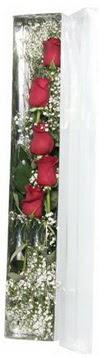 Erzurum çiçek servisi , çiçekçi adresleri   5 adet gülden kutu güller