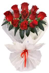11 adet gül buketi  Erzurum güvenli kaliteli hızlı çiçek  kirmizi gül