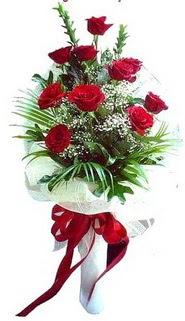 Erzurum anneler günü çiçek yolla  10 adet kirmizi gül buketi demeti