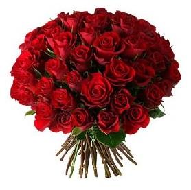 Erzurum 14 şubat sevgililer günü çiçek  33 adet kırmızı gül buketi