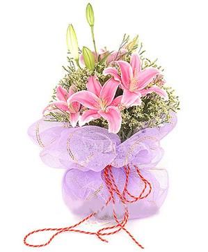 3 dal kazablanka görsel buketi  Erzurum çiçek mağazası , çiçekçi adresleri