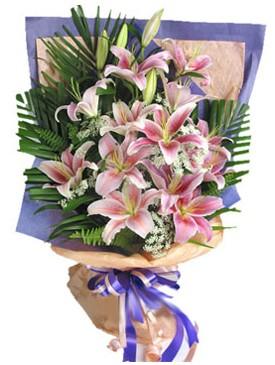 7 dal kazablankadan görsel buket  Erzurum hediye çiçek yolla