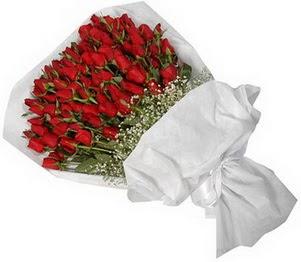 Erzurum internetten çiçek siparişi  51 adet kırmızı gül buket çiçeği