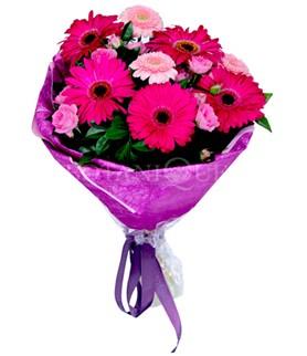 Erzurum çiçek servisi , çiçekçi adresleri  karışık gerbera çiçeği buketi