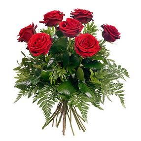 Erzurum online çiçekçi , çiçek siparişi  7 adet kırmızı gülden buket