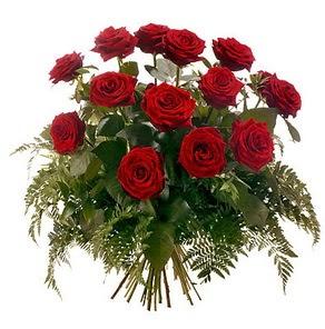 Erzurum çiçek mağazası , çiçekçi adresleri  15 adet kırmızı gülden buket