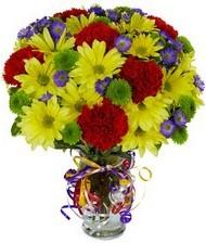 En güzel hediye karışık mevsim çiçeği  Erzurum hediye sevgilime hediye çiçek