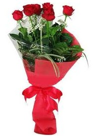 Çiçek yolla sitesinden 7 adet kırmızı gül  Erzurum çiçek mağazası , çiçekçi adresleri