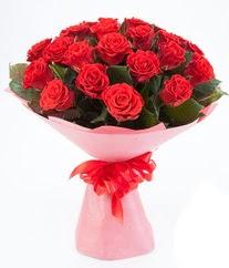 15 adet kırmızı gülden buket tanzimi  Erzurum çiçek servisi , çiçekçi adresleri