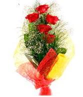 5 li kırmızı gül buketi  Erzurum çiçek mağazası , çiçekçi adresleri