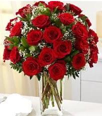Vazo içerisinde 33 adet kırmızı gül  Erzurum çiçek yolla , çiçek gönder , çiçekçi