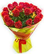 19 Adet kırmızı gül buketi  Erzurum yurtiçi ve yurtdışı çiçek siparişi