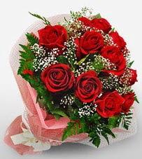 12 adet kırmızı güllerden kaliteli gül  Erzurum yurtiçi ve yurtdışı çiçek siparişi