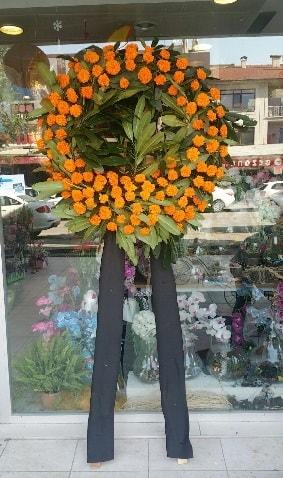 Cenaze çiçeği cenaze çelengi çiçek modeli  Erzurum cicek , cicekci