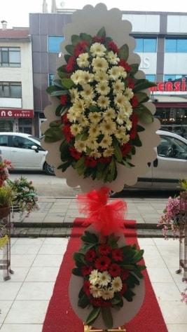 Çift katlı düğün açılış çiçeği  Erzurum uluslararası çiçek gönderme