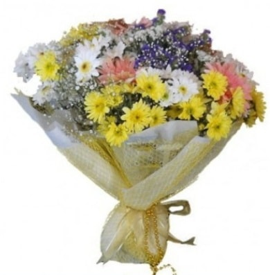 Karışık mevsim çiçeği  Erzurum uluslararası çiçek gönderme