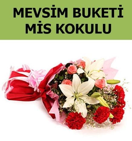 Karışık mevsim buketi mis kokulu bahar  Erzurum anneler günü çiçek yolla