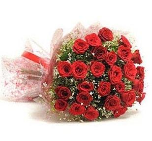 27 Adet kırmızı gül buketi  Erzurum anneler günü çiçek yolla