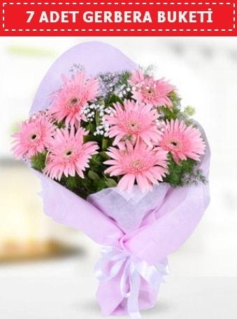 Pembe Gerbera Buketi  Erzurum 14 şubat sevgililer günü çiçek