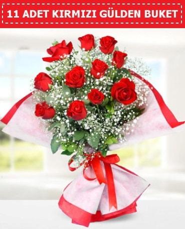 11 Adet Kırmızı Gül Buketi  Erzurum güvenli kaliteli hızlı çiçek