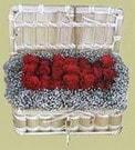Erzurum İnternetten çiçek siparişi  Sandikta 11 adet güller - sevdiklerinize en ideal seçim